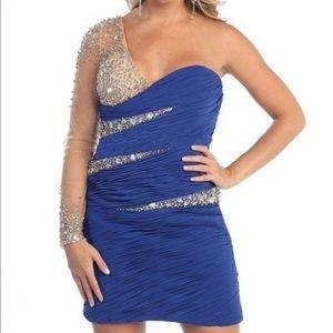 Dresses & Skirts - BOGO Royal Blue Short Cocktail Grad Party Dresses